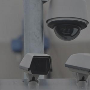 Videoüberwachungen Hintergrund